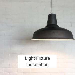 Light Fixture Installation