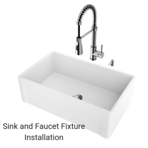 Sink and Faucet Installation (1)